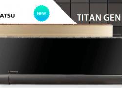Кондиционер KENTATSU серии TITAN GENESIS KSGX/KSRX26HFAN1-GL (золото)